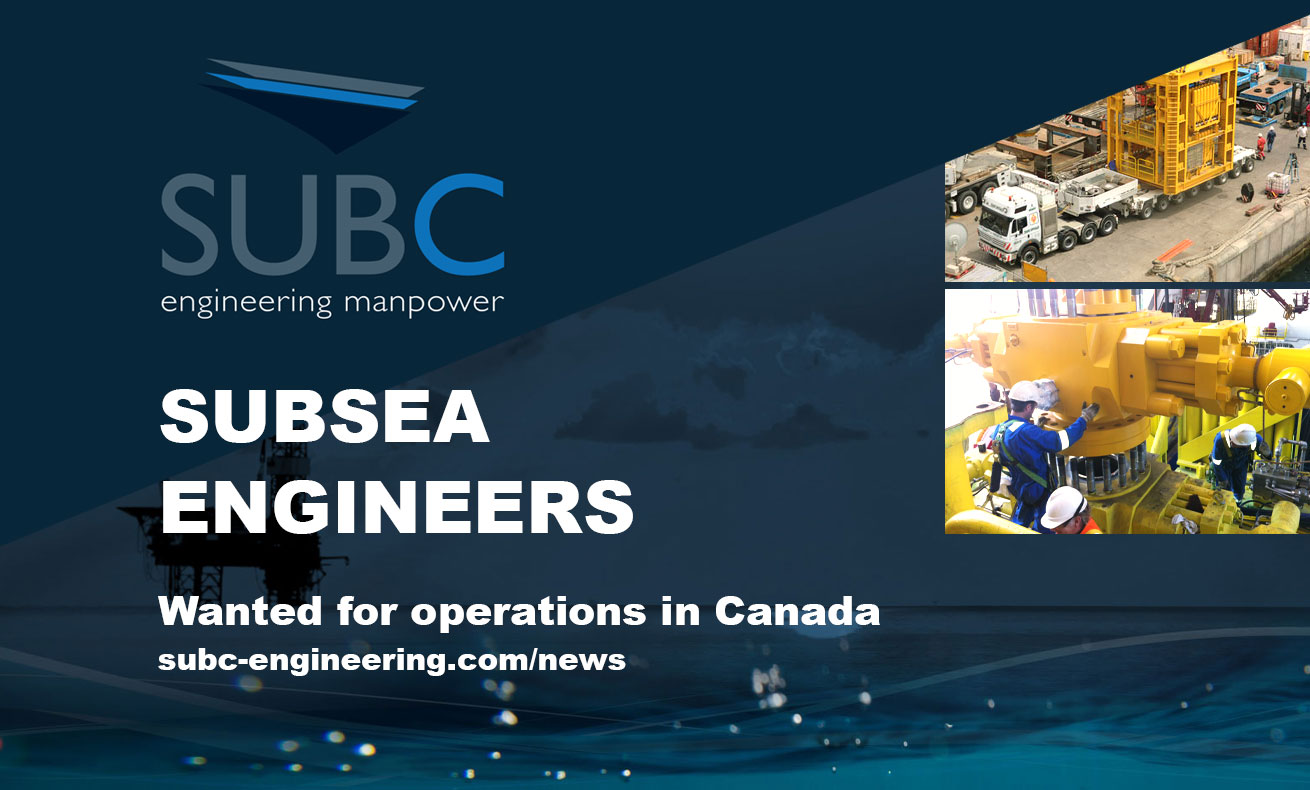 Subsea Engineers wanted operations in Canada