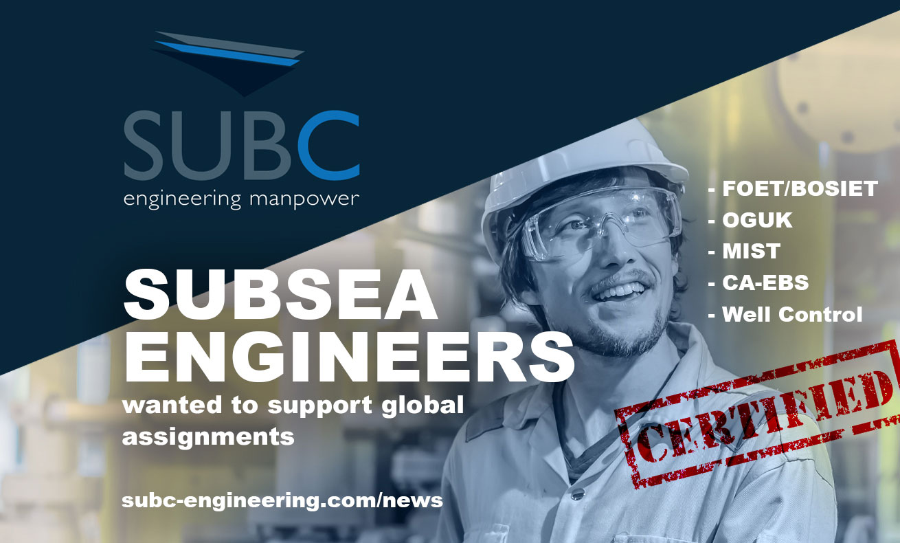Subsea Engineers wanted